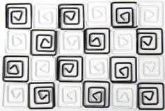 Zwart-witte klemmen als achtergrond Royalty-vrije Stock Afbeeldingen