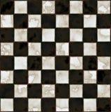 zwart-witte marmeren vloer Stock Afbeelding
