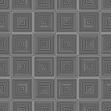 Zwart-witte naadloze patroon geometrische voering royalty-vrije stock fotografie