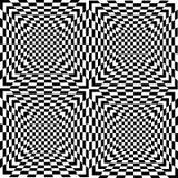 Zwart-witte naadloze tilel, vector Royalty-vrije Stock Afbeeldingen