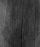 Zwart-witte, oude houten textuur Stock Afbeeldingen