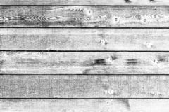 Zwart-witte planken royalty-vrije stock afbeelding