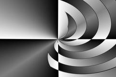 Zwart-witte samenvatting vector illustratie