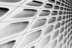 Zwart-witte samenvatting van shell van het Brede Museum Royalty-vrije Stock Foto