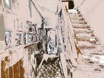 Zwart-witte schaduwen van Bruin, Royalty-vrije Stock Fotografie