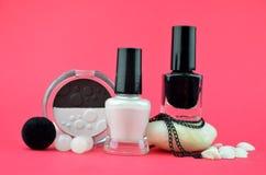 Zwart-witte schoonheidsmiddelen Stock Fotografie
