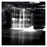 Zwart-witte Sluisdeuren Stock Fotografie