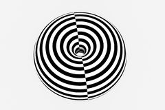 zwart-witte streep, die lijnen, het 3d teruggeven herhalen vector illustratie