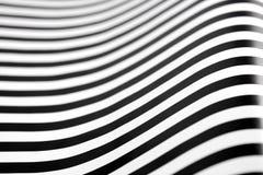 Zwart-witte strepen Royalty-vrije Stock Foto
