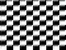 Zwart-witte textuur Stock Foto