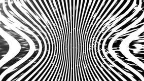 Zwart-witte textuur Hypnose halftone psychedelisch art. Grafische in syntwaveachtergrond royalty-vrije illustratie