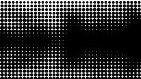 Zwart-witte textuur Hypnose halftone psychedelisch art. Grafische in syntwaveachtergrond vector illustratie