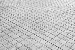 Zwart-witte van de steenvloer textuur als achtergrond royalty-vrije stock afbeeldingen