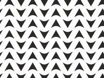 Zwart-witte van het pijlenpatroon vector als achtergrond Royalty-vrije Stock Foto's