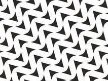 Zwart-witte van het pijlenpatroon vector als achtergrond Royalty-vrije Stock Fotografie