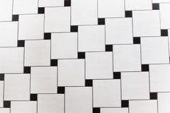 Zwart-witte vierkanten royalty-vrije stock foto's