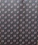 Zwart-witte zijdestof Royalty-vrije Stock Fotografie