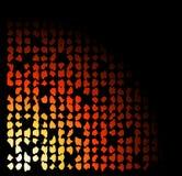 Zwarte abstracte samenstelling Stock Afbeeldingen
