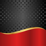 Zwarte achtergrond Royalty-vrije Stock Foto's