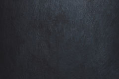 Zwarte achtergrond met schijnwerpermacro Donkere grunge geweven muur Royalty-vrije Stock Afbeeldingen