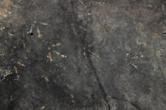 Zwarte achtergrond met sporen van kippenpoten royalty-vrije stock afbeeldingen