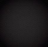 Zwarte achtergrond van de textuur van de koolstofvezel stock illustratie