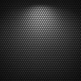 Zwarte achtergrond van de textuur van het celpatroon Stock Illustratie