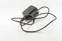 Zwarte adapter Stock Afbeelding