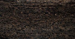 Zwarte Ader Marmeren Steen Royalty-vrije Stock Foto