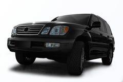 Zwarte al terreinauto Stock Fotografie