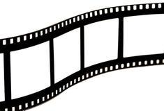 Zwarte & witte filmstrook Royalty-vrije Stock Fotografie