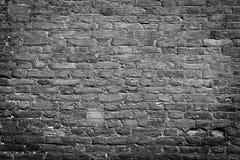 Zwarte & witte muur Royalty-vrije Stock Foto