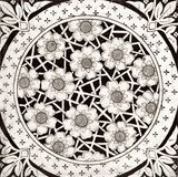 Zwarte & Witte Tegel Royalty-vrije Stock Fotografie