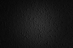 Zwarte asfaltoppervlakte Close-up van donkere grungetextuur met korrel Stock Fotografie