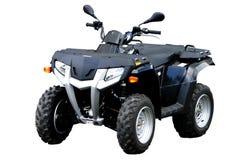 Zwarte ATV Royalty-vrije Stock Afbeelding