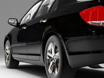 Zwarte auto Stock Fotografie