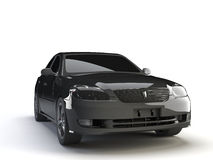 Zwarte auto stock illustratie