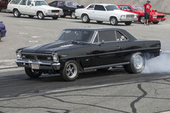 Zwarte autodoorsmelting Stock Afbeeldingen