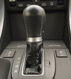 Zwarte automatische autotransmissie Stock Afbeeldingen