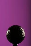 Zwarte bal royalty-vrije stock afbeelding