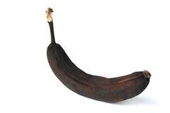 Zwarte banaan Royalty-vrije Stock Foto's