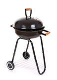 Zwarte barbecuegrill Royalty-vrije Stock Afbeeldingen