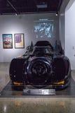 Zwarte 1989 Batmobile Royalty-vrije Stock Afbeeldingen