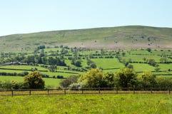 Zwarte bergen, Herefordshire Stock Foto