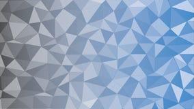 Zwarte Blauwe Driehoek Royalty-vrije Stock Afbeeldingen