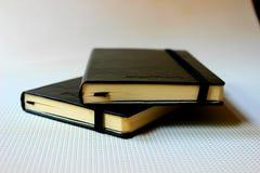 Zwarte boeken Royalty-vrije Stock Afbeelding