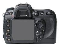 Zwarte camerarug Stock Afbeelding