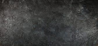 Zwarte concrete muur royalty-vrije stock afbeeldingen