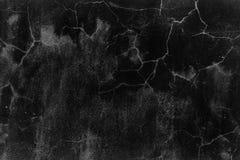 Zwarte concrete muur Royalty-vrije Stock Foto