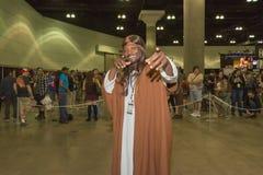 Zwarte cosplay Jesus Stock Fotografie